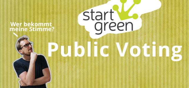 startgreen Public Voting